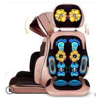 Whole body multi purpose household electric massage chair kneading cervical vertebra waist massage cushion body massager J2217