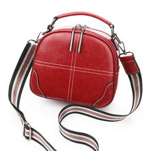 AOEO Crossbody Bags For Women Double Shoulder Strap Split Leather Girls Cross Design Small Handbag Ladies Messenger Female