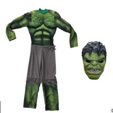 أزياء هالك جديدة للأطفال/ملابس تنكرية/مستلزمات تزيين ملابس للأولاد لاحتفالات الهالوين