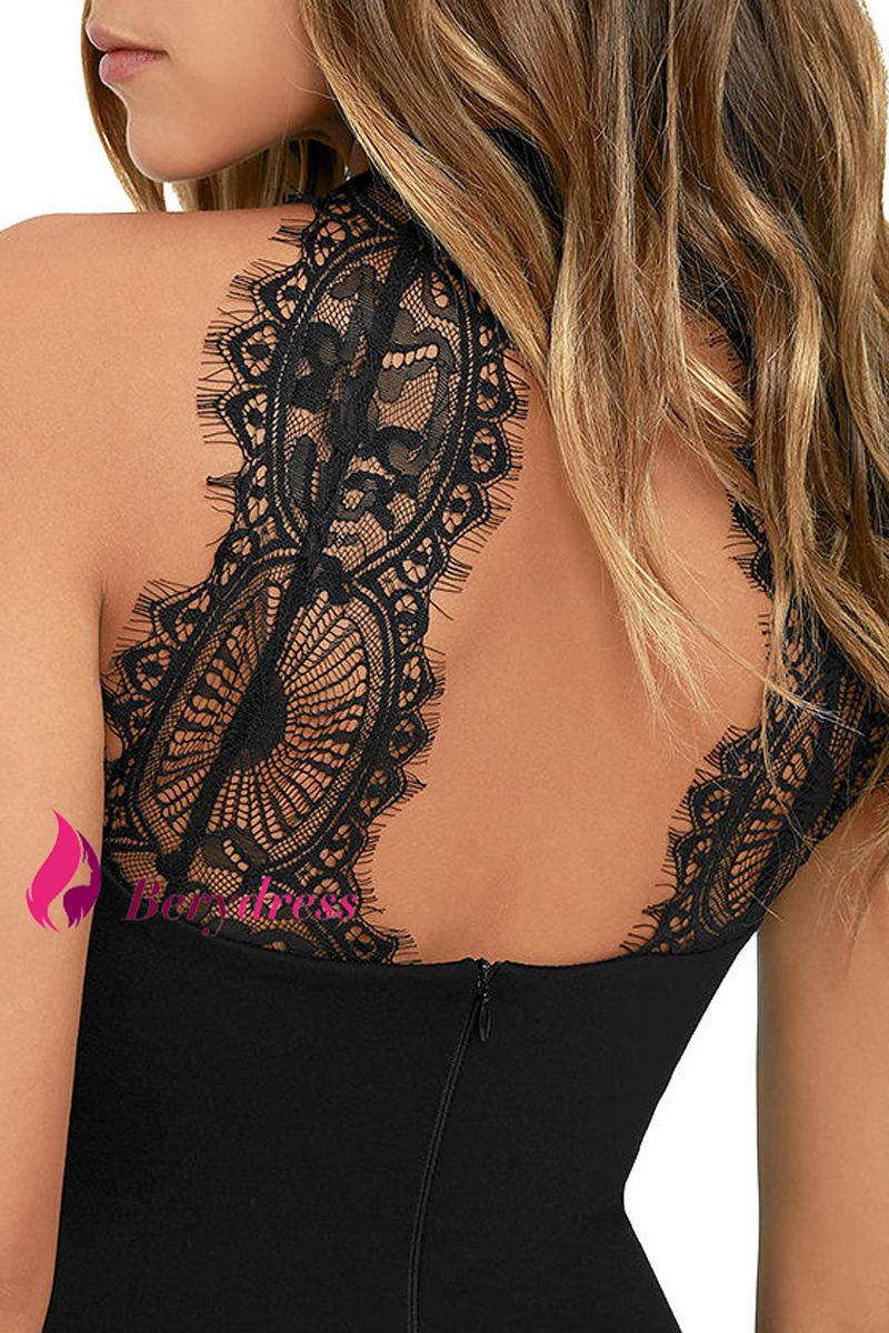 HTB1IT0VRXXXXXbiXXXXq6xXFXXXK - Mini Dress Sexy Nightclub Black Lace Bodycon Dresses PTC 241