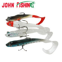 John Fishing 5pcs Pack Lifelike Soft Bait with Hooks