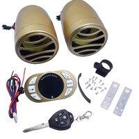 Двигатель цикл скутер Bluetooth MP3 плеера Колонки Двигатель Аудио Звуковая сигнализация Системы ATV USB FM Радио телефон ответ