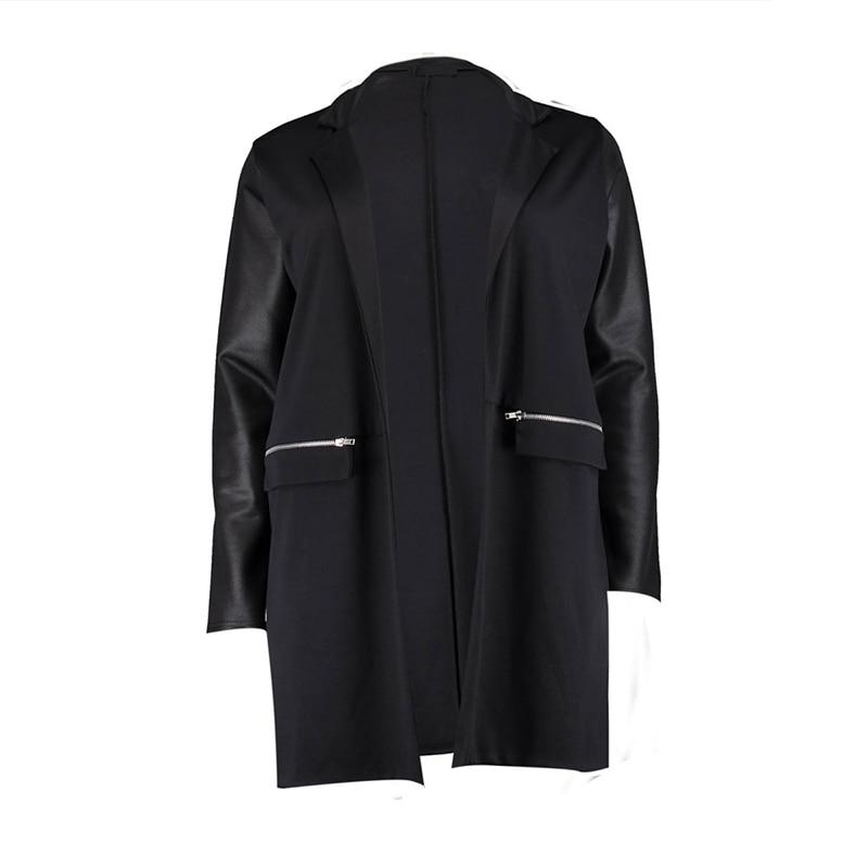 997ee021a0 Kissmilk Plus Size 2017 Fashion Women Warm Coat Black Street Style ...
