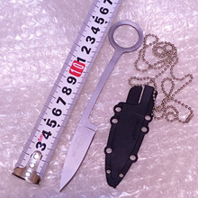 Cold Steel Small knife EDC Survival Knives Pocket Mini Neck Knife Outdoor Hunting Camping Necklace trout knives 58-59HRC