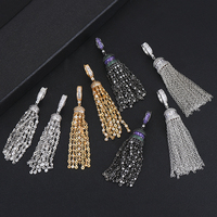 New Fashion Chains Pendant Earrings boucle d'oreille femme 2019 Jewelry for Women Wedding Party Occasion Accessories Gift
