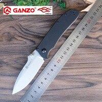 58 60HRC Ganzo G704 440C Blade G10 Handle EDC Folding Knife Survival Camping Tool Hunting Pocket
