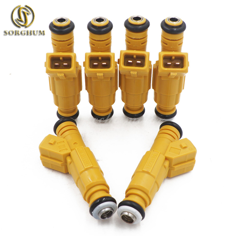 6PCS New 87 98 for JEEP 4.0L TYPE III for Volvo 2.9L V90 960 S90 VORTEC CHEVY 2500 3500 Fuel Injector 0280155746 9454555 1275194-in Fuel Injector from Automobiles & Motorcycles    1
