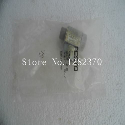 [SA FESTO raccord de gaz GRLZ-1/4-B stock 151 195 -- 5 pcs/lot