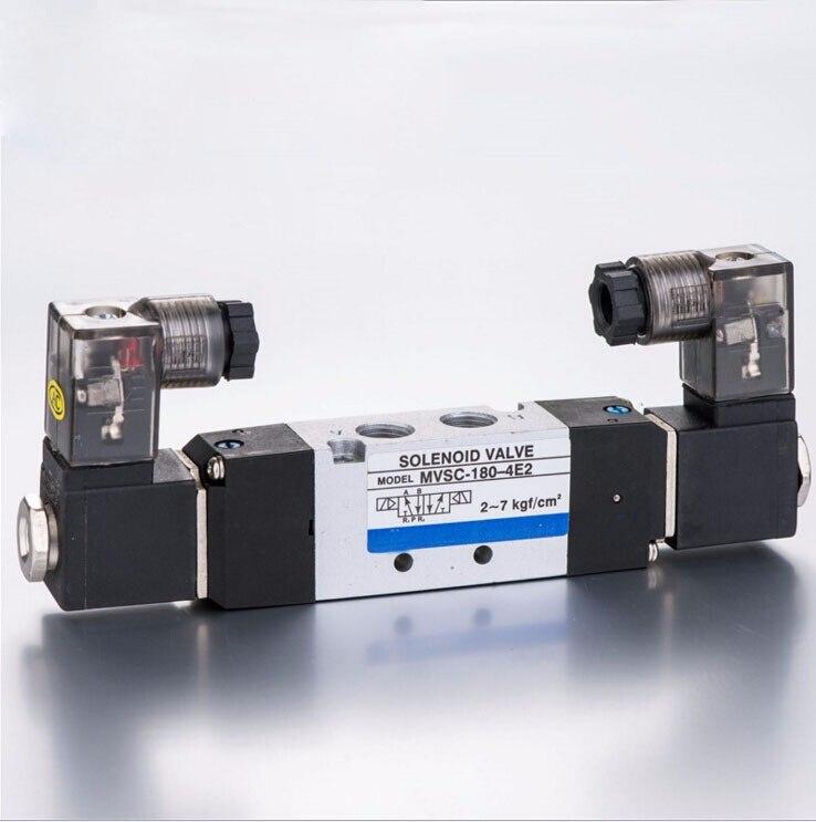 1/8 MVSC180 série mindman électrovanne double solénoïde air électrovanne