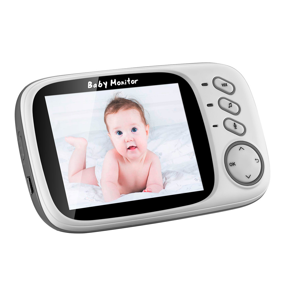 3 Inch Wireless Baby Monitor With High Resolution Night Vision To Baby Security Camera 27