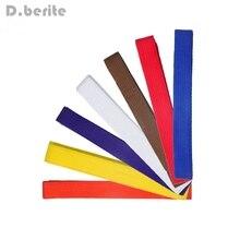 Тхэквондо дорога с уровнем дзюдо Стандартный пояс каратэ двойной обёрточная бумага профессиональные боевые искусства все цвета CYF9149