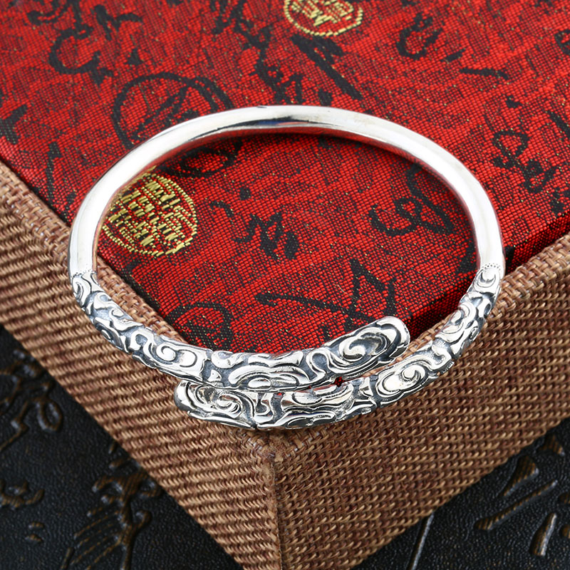 Beier 925 Sterling Silver Bracelet fashion Golden Hoops Fine Bangle Bracelet man and women Jewelry BR925SZ076 5pcs fashion 925 sterling silver fine jewelry bangle