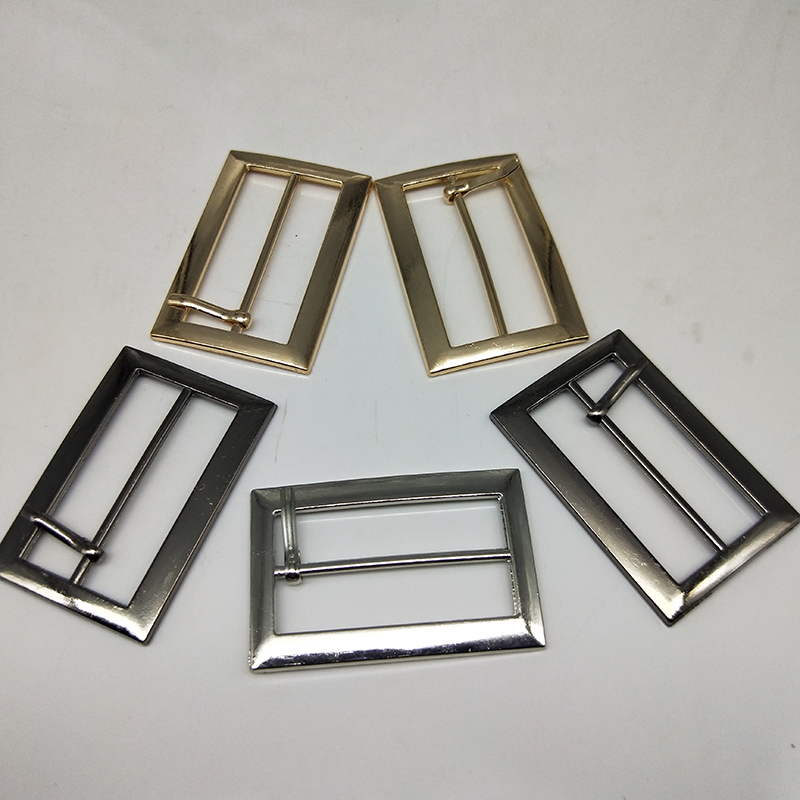 Metal Square belt buckles for shoes bag garment decoration 4 cm 3 colors Belt Buckles decoration DIY Accessory Sewing 20 pcs lot in Buckles Hooks from Home Garden