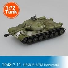 Tanque de energía mágica escala Modelo 1:72, modelo de tanque pesado USSR JS-3/3M, tanque de colección 36244, bricolaje