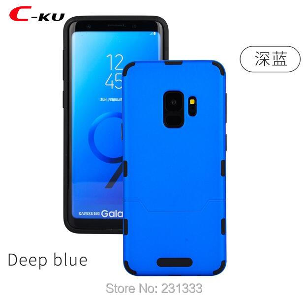C-ku Hybrid Hard PC TPU Case For Samsung Galaxy S9 PLUS S8 NOTE8 S7 EDGE A3 2017 A5 A7 J2 J3 J5 J7 J1 MINI Prime Skin Back 10pcs
