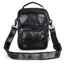 J.M.D High Quality Vintage Real Leather Men Messenger Bags Shoulder Bag For Boy 1010A