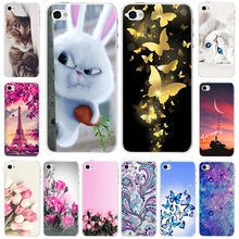 цена на Phone Case For iPhone 4s 4 s Hard PC Plastic Ultra Slim Cute Cartoon Back Cover For iPhone 4 4s Case 3.5 inch