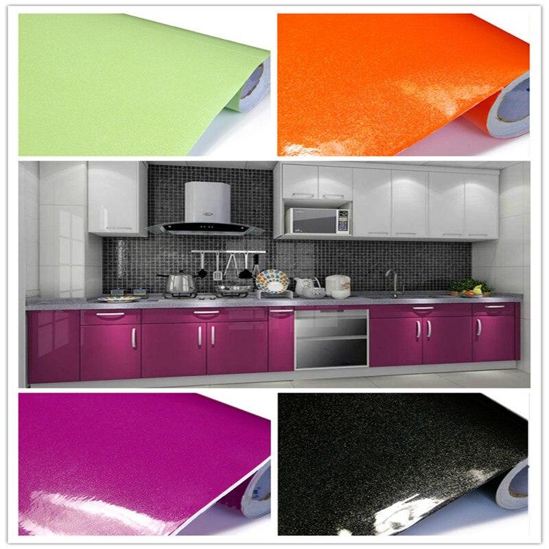 Small Wholesale Self-adhesive Wall Stickers Pearl Furniture Waterproof Paint Kitchen Cabinet Wardrobe Door Furniture Wallpaper