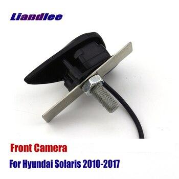 Otomatik kamera araba ön görüş Logo gömülü kamera Hyundai Accent Solaris 2010-2017 (ters arka park kamerası)