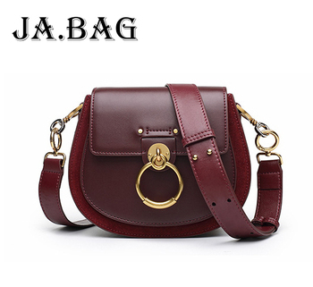 JA.BAG 2019 Female Leisure Pig Messenger Bags,Luxury High Quality Handbags,Fashion Women Genuine Leather Crossbody Shoulder Bag