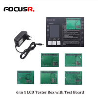 Multiple Functions LCD Touch Screen Digitizer Tester Box With Green Connector Testing PCB Board for iPhone6/7/8 (220V EU Plug)