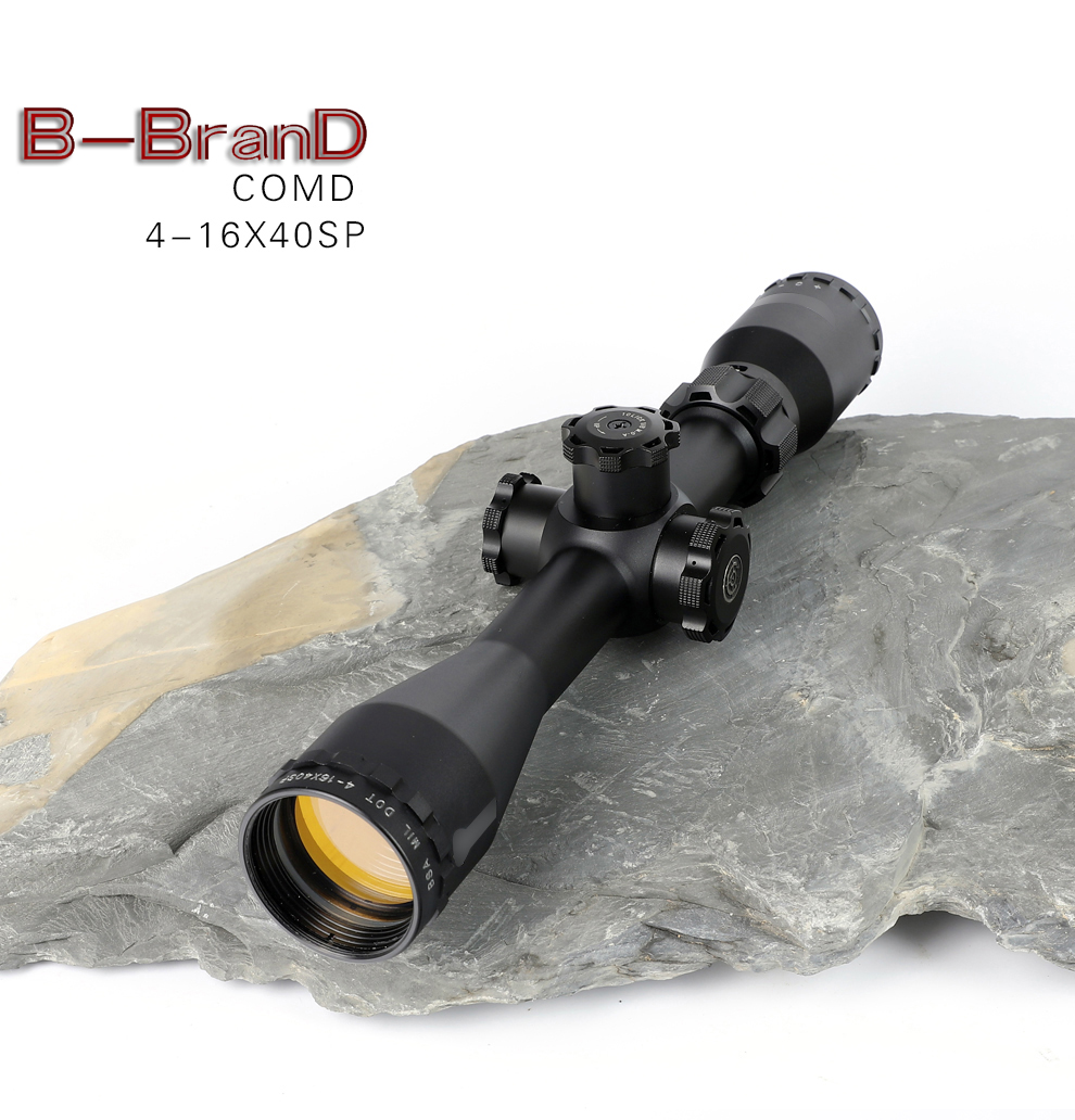 BSA 4-16X40 RGBFE Tactical Riflescope Red Green Illuminated Rifle Scope Sniper Optic Sight Hunting Scopes Rifle Air Red Dot Cqb