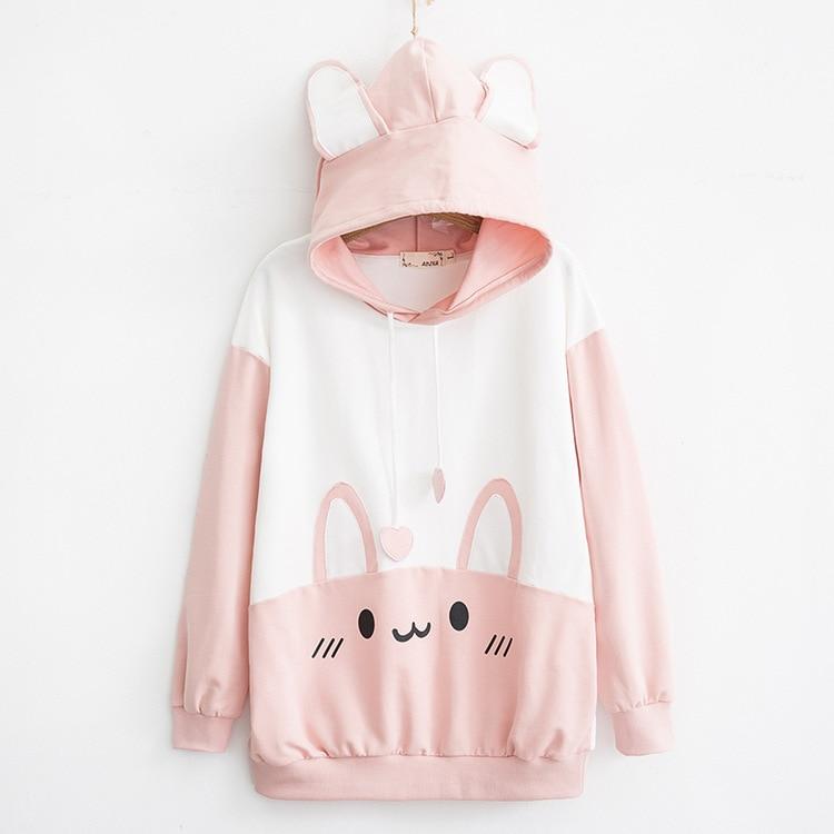 sweter różowy Himifashion harajuku 10