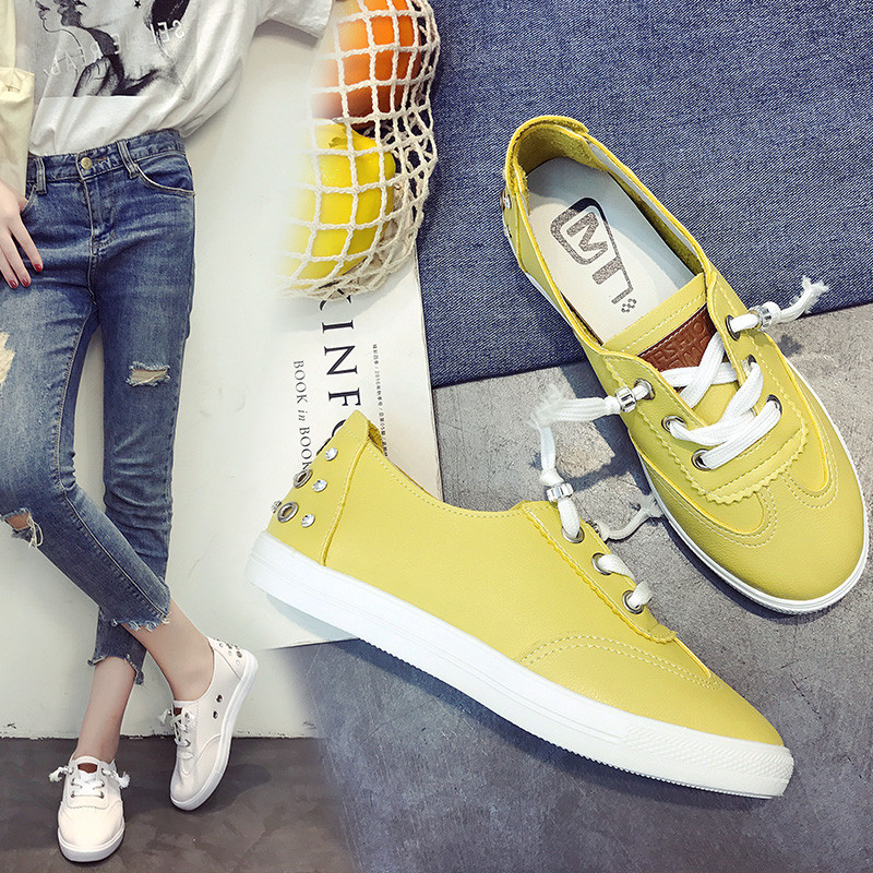 PHYANIC Summer women Espadrilles ballet flats shoes canvas Lace-up soft comfortable ladies casual shoes white yellow phyanic 2017 summer outdoor walking flat shoes woman soft comfortable lace up flats breathable mesh casual women shoes xdy5711