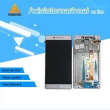 Получить скидку Axisinternational zte V5 Pro N939St/лезвие X9 ЖК-дисплей экран + Сенсорная панель планшета с рамкой Белый/Золотой Бесплатная доставка