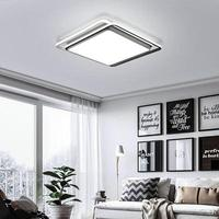 Modern Ceiling Lights kids room Black White Lampshade high quality Ceiling lamp for living room bedroom surface mounted