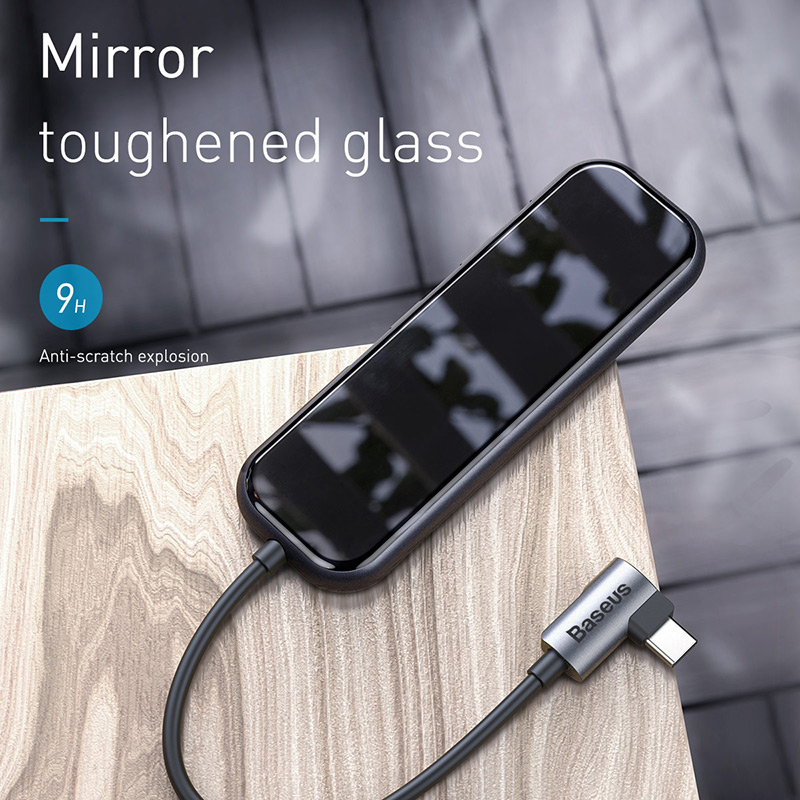 Image 5 - Baseus USB Hub to HDMI USB 3.0 Hub for Macbook Pro Huawei Samsung  5 Ports Mobile Phone Adapter USB Splitter Dock Type C Hub HabUSB Hubs