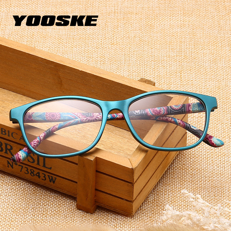 Ульсветильник легкие очки для чтения YOOSKE для мужчин и женщин, очки для дальнозоркости, по рецепту, с защитой от усталости, 1,5, 2,0, 2,5, 3,0