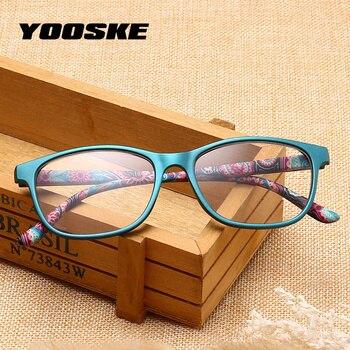 a68291b61b YOOSKE las mujeres los hombres Ultra luz gafas de lectura Anti fatiga  hipermetropía anteojos recetados 1