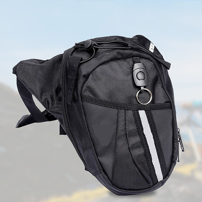 2019 NEW Nylon Waist Packs Leg Bag Waterproof Waistpack Motorcycle Funny Drop Belt Pouch Fanny Pack Waist Bag Belt Packs