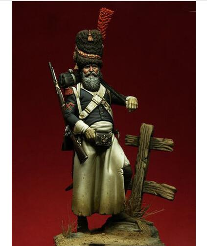 1/24 75mm Sapper Of Foot Of The Guards Soldier 75MM   Toy Resin Model Miniature Resin Figure Unassembly Unpainted