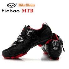 Tiebao New Women Cycling Shoes men 2018 zapatillas deportivas mujer MTB Bike Shoes High Quality Self-locking Bicycle Bike Shoes