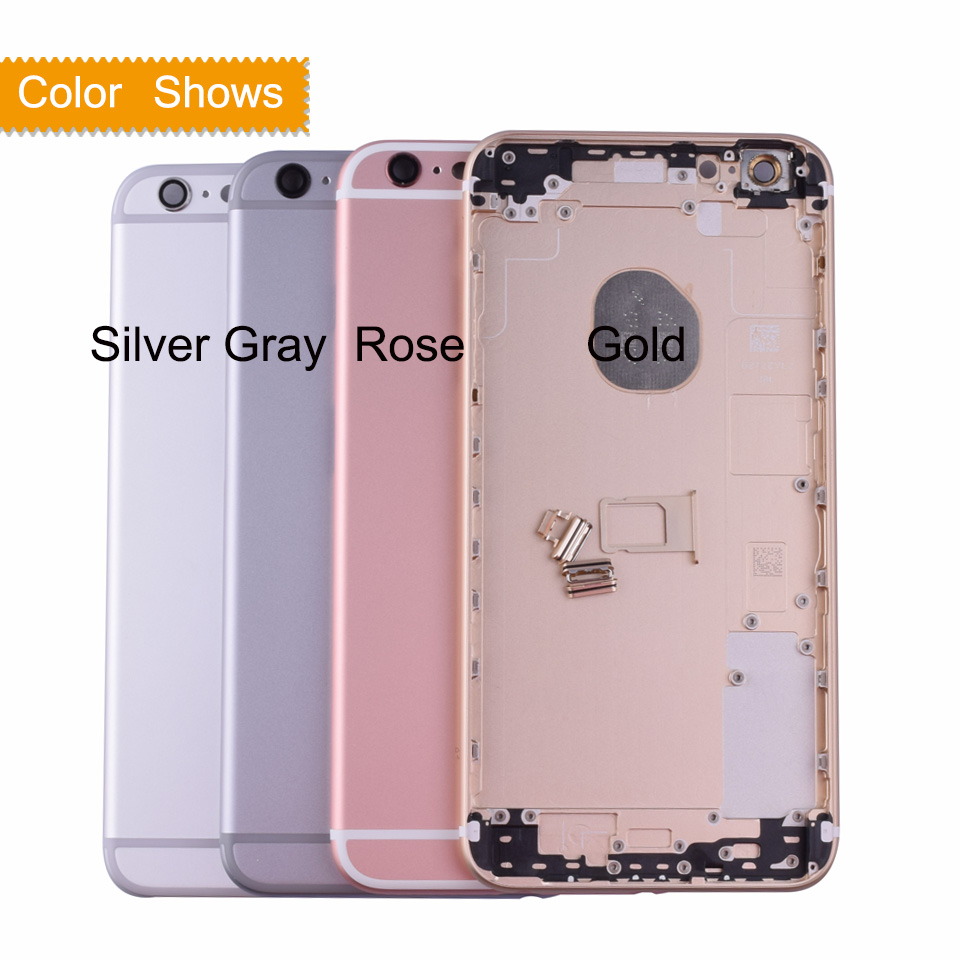 10pcs/lot OEM For iPhone 6S Plus Back Housing Battery Cover Rear ...