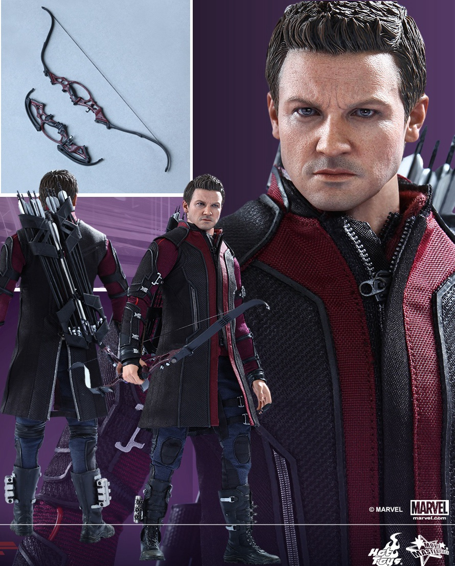 1/6 scale Figure doll .12 action figures doll Avengers: Age of Ultron Hawkeye Jeremy Renner.Collectible doll model toy gift brand new 1 6 scale avengers age of ultron hawkeye clint barton jeremy renner head sculpt for 12 action figure model toy