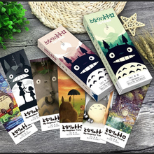 32 pcs/pack My neighbor Totoro book marks Cartoon paper bookmark Stationery office accessories School supplies free shipping