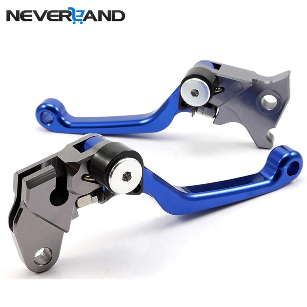 NEVELAND Motorcycle CNC Pivot Brake Clutch Levers For Yamaha WR250R WR250X SEROW225 SEROW250 TTR125 TTR125LW TTR125E TTR250
