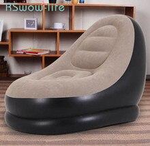 3 sztuk sofa dmuchana singiel wypoczynek dmuchana sofa przerwa na Lunch fotel poduszki sofy + kostki + pompa elektryczna poduszki na zewnątrz