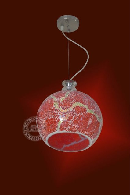 red color tiffany pendant lamp in pendant lights from lights