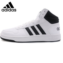 Original New Arrival Adidas Neo Label HOOPS 2.0 MID Men's Skateboarding