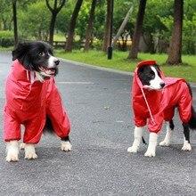 Bigeyedog Dog Raincoat Poodle Schnauzer Pet Waterproof Clothing for Dog Jumpsuit Rain Jacket Dog Custume Pet Outfit