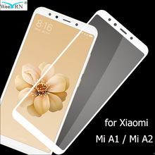 9H Hardness Tempered Glass for Xiaomi Mi A2 / A1 Screen Protector 2.5D Film A2/