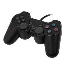 Universal Wired Gamepad Controller Double Shock Remote Joystick Gamepads Joypad for PlayStation 2 PS2
