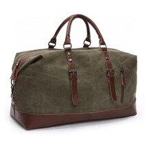 Große kapazität Männer handtasche Leinwand umhängetasche gepäck herren Umhängetasche