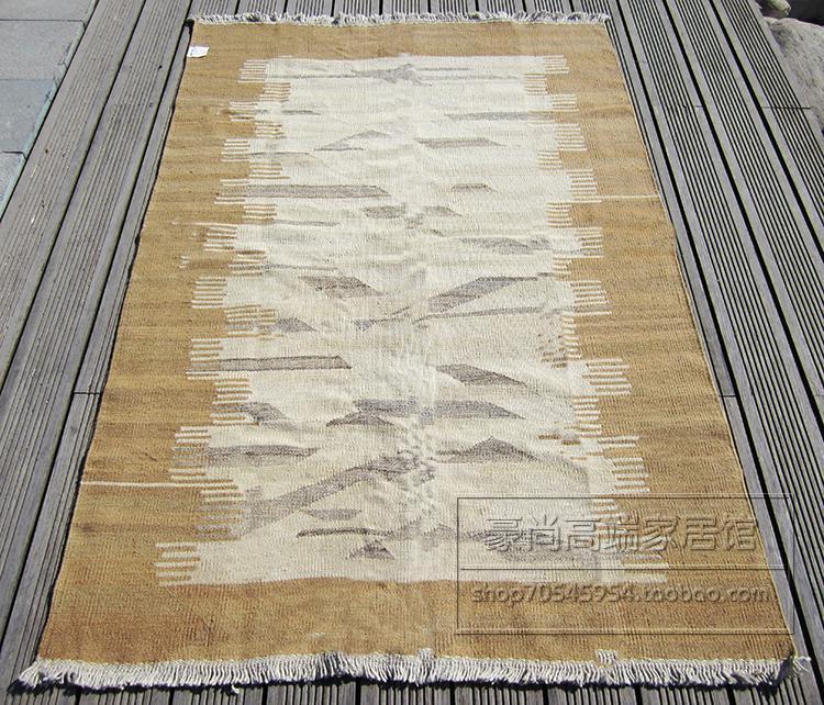 Иран импортируется из чистой шерсти ковры ручной работы ковер Kilim гостиной журнальный столик ковер Национальный Ветер ковер 38gc154yg4