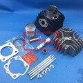 Головка блока цилиндров Поршневых колец Прокладка Зажим Комплект пригодный для Suzuki LT50 LTA50 JR50 1985-2006