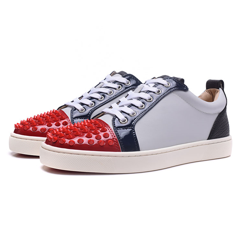 New Mixed Color Rivets Mens Sneakers Trainers Ultra Boosts Baskets Homme Flats Loafers Breathable Casual Shoes Sapato Masculino sexy leopard seude leather mens loafers luxury rivets round toe lace up flats casual shoes trainers ultra boosts tenis feminino